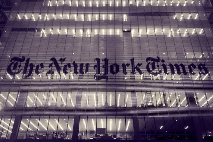 Do you respect the New York Times?
