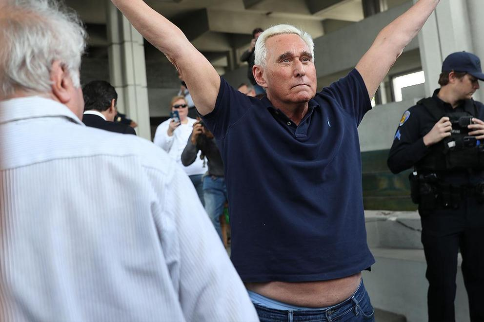 Is Roger Stone a fashion do or fashion don't?