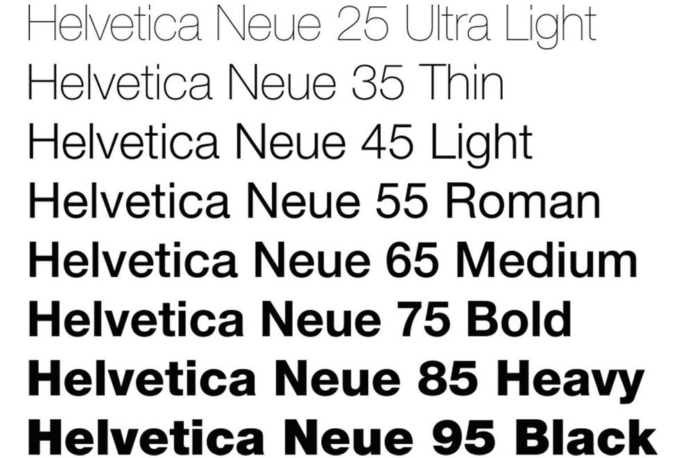 Is Helvetica the superior font?