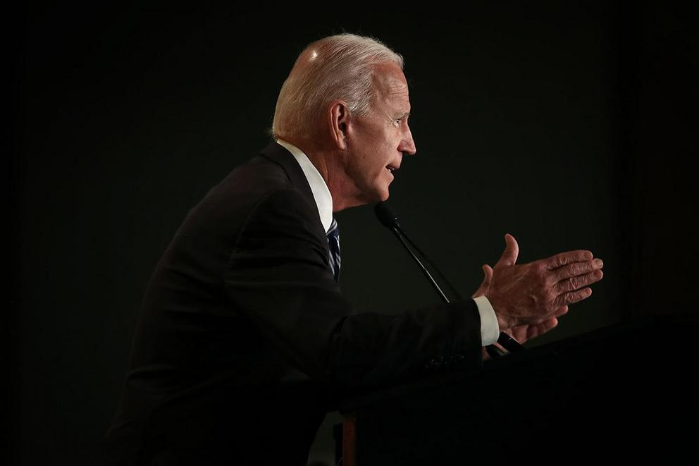 Does Joe Biden have a woman problem?