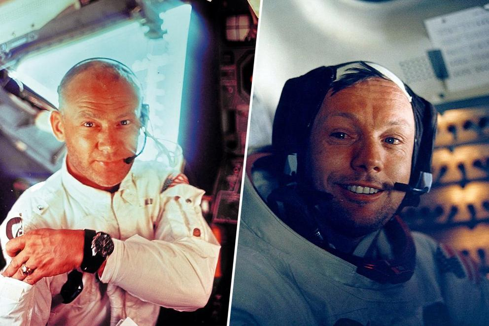 Who would you fly into space with: Buzz Aldrin or Neil Armstrong?