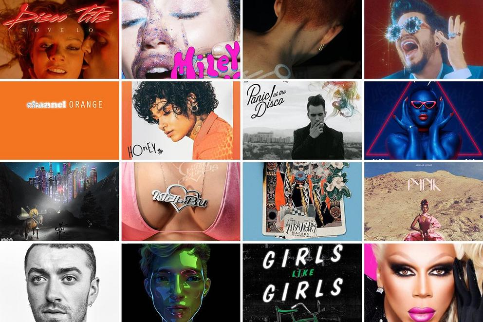 Tylt Recs: Ultimate pride anthems by LGBTQ+ artists of this era