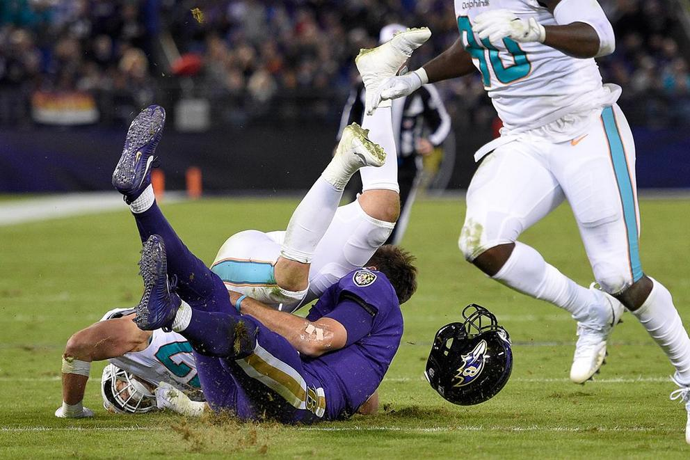 Was Kiko Alonso's hit on Joe Flacco dirty?