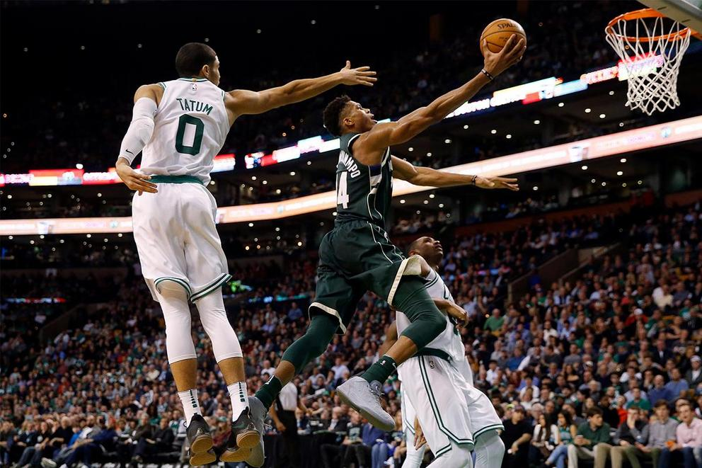 Who will survive the first round of the NBA Playoffs: Boston Celtics or Milwaukee Bucks?