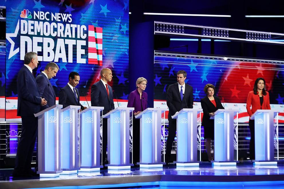 Did the Democratic debates change your mind?