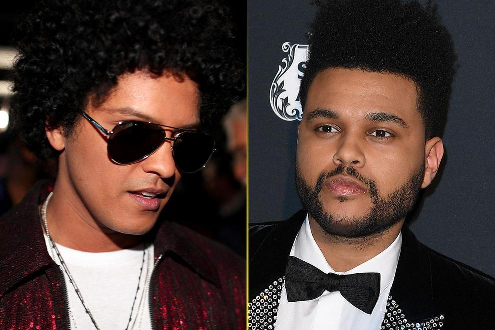Favorite R&B/pop crooner: Bruno Mars or The Weeknd?