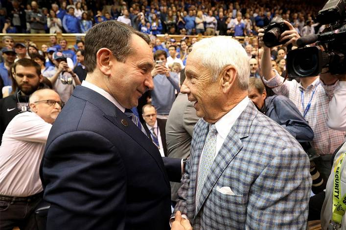 Who's going to finish higher in the AP Poll: Duke or North Carolina?