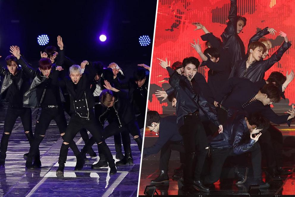 Which K-pop supergroup will take over the world next: MONSTA X or SEVENTEEN?