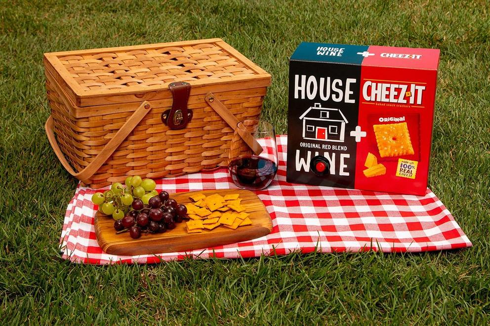 Do Cheez-Its and wine go together?
