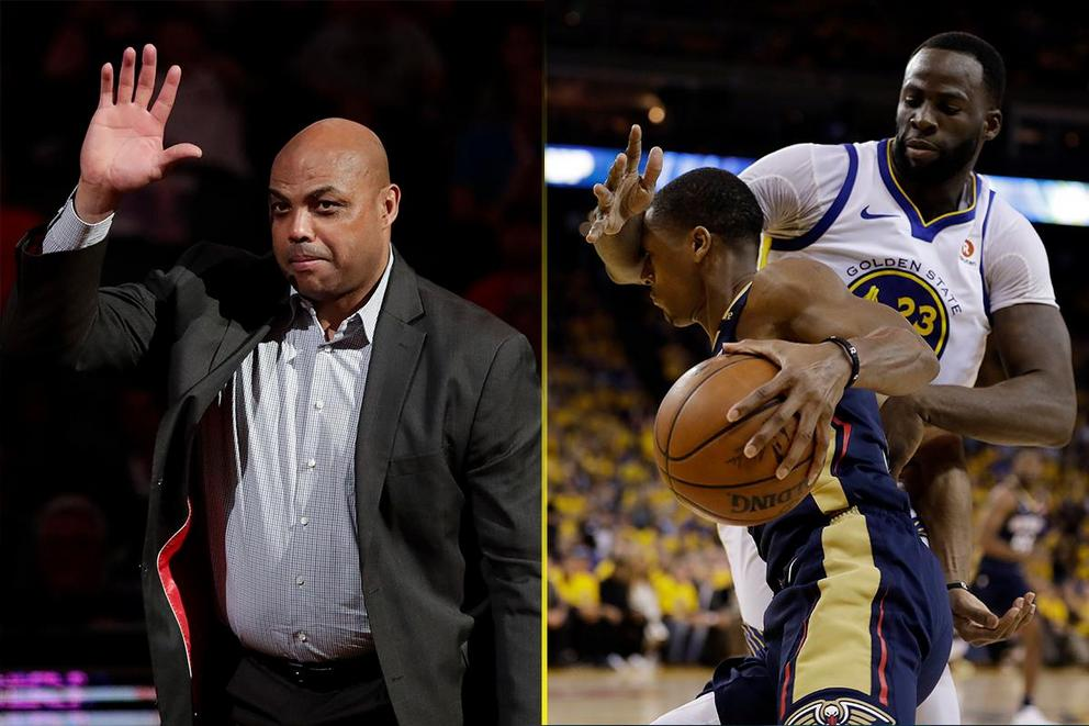 Who would win in a fight: Charles Barkley vs. Draymond Green?