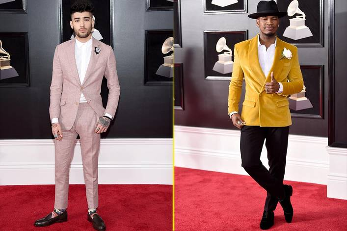 Most dapper at the Grammys: Zayn Malik or Ne-Yo?