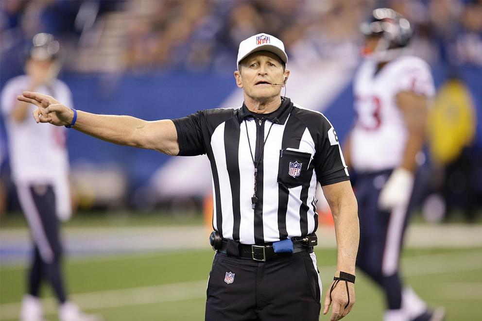 Ed Hochuli's best quality: His arms or his long explanations?