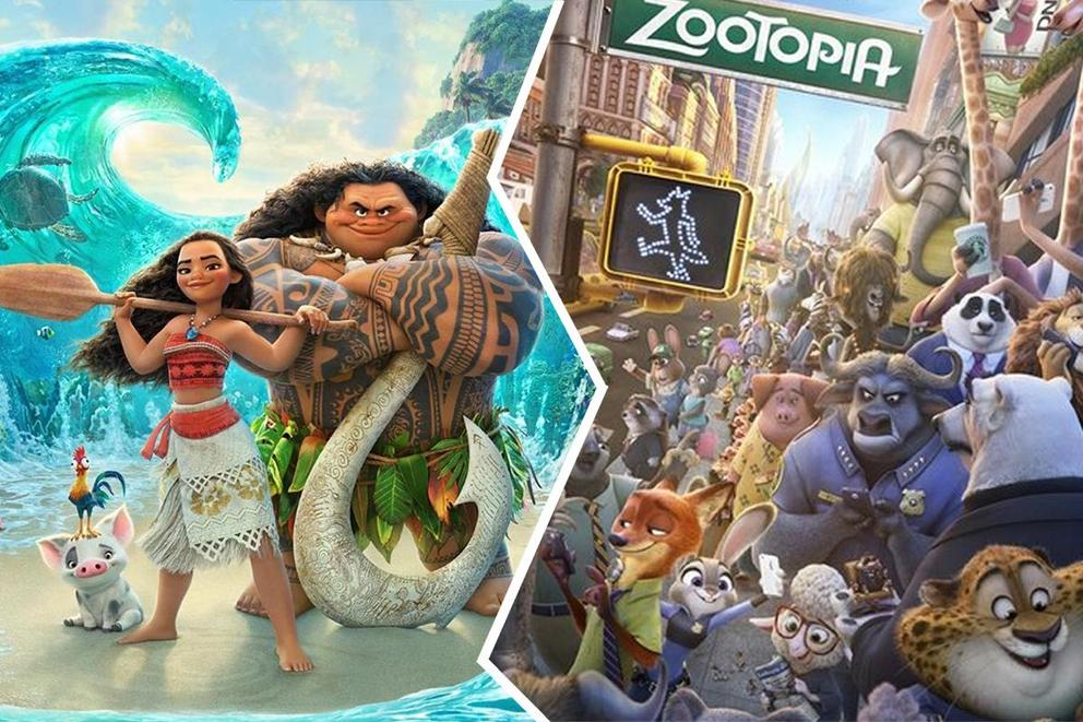 Best animated movie of the year: 'Moana' or 'Zootopia'?