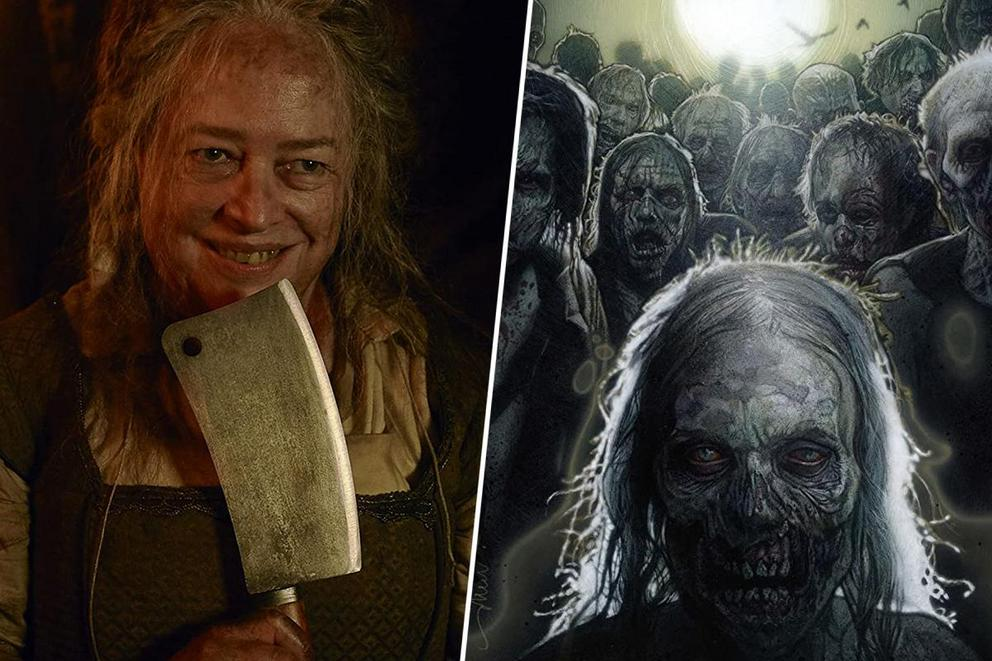 Favorite terrifying TV show: 'American Horror Story' or 'The Walking Dead'?
