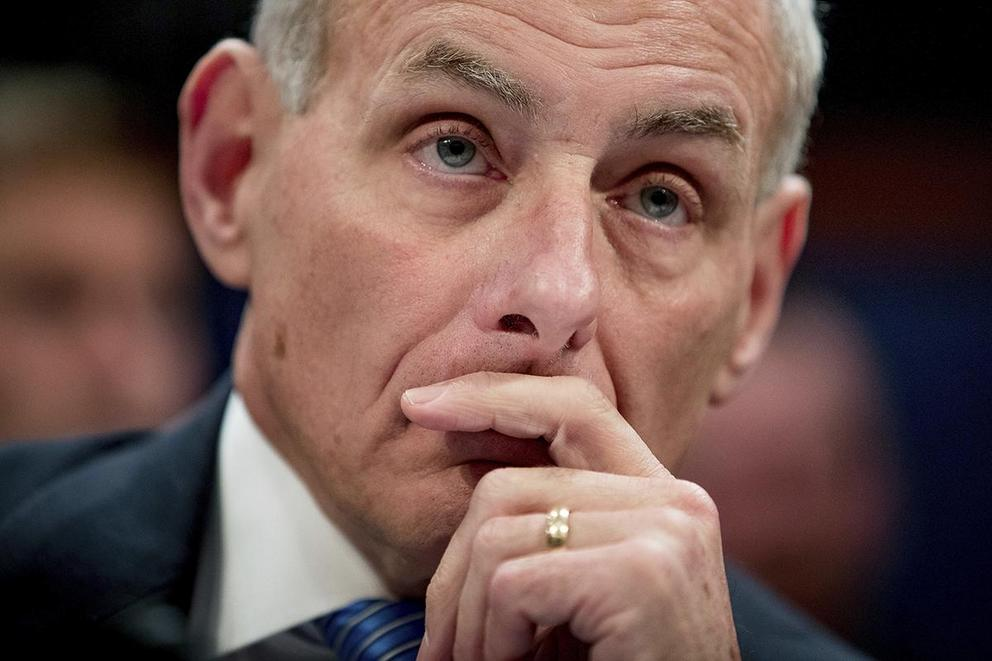Is John Kelly a hero or a villain?