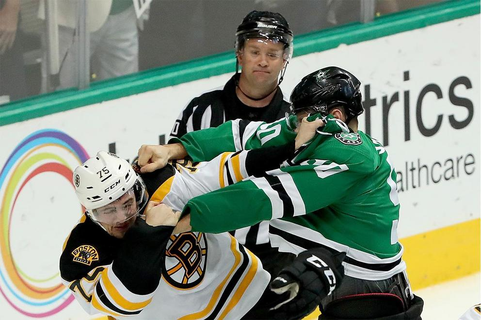 Should fighting be banned from hockey?