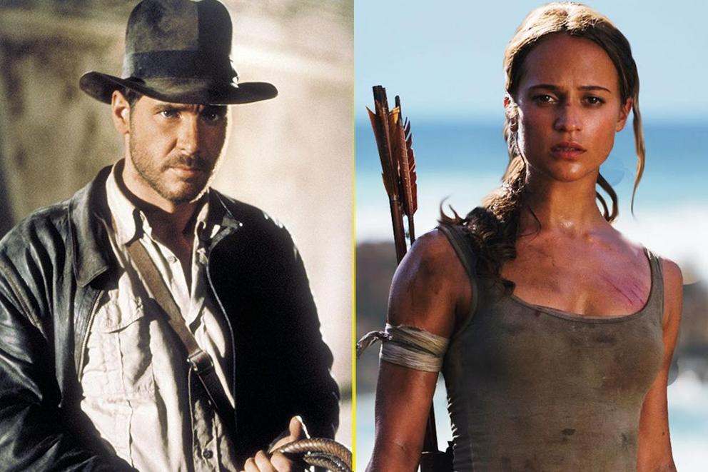Most badass archaeologist: Indiana Jones or Lara Croft?