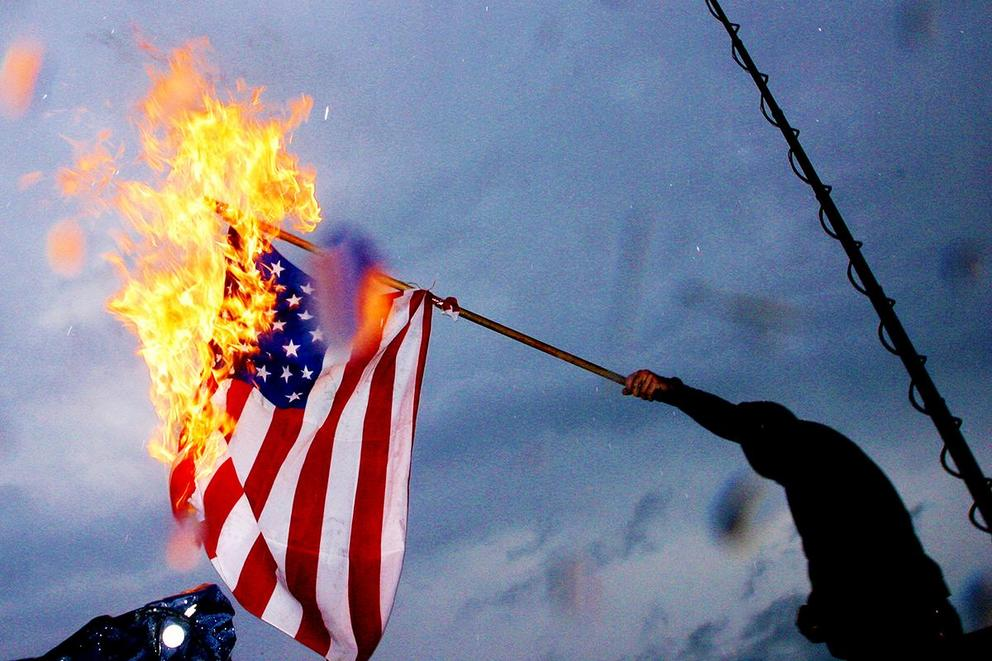 Should it be illegal to burn the American flag?