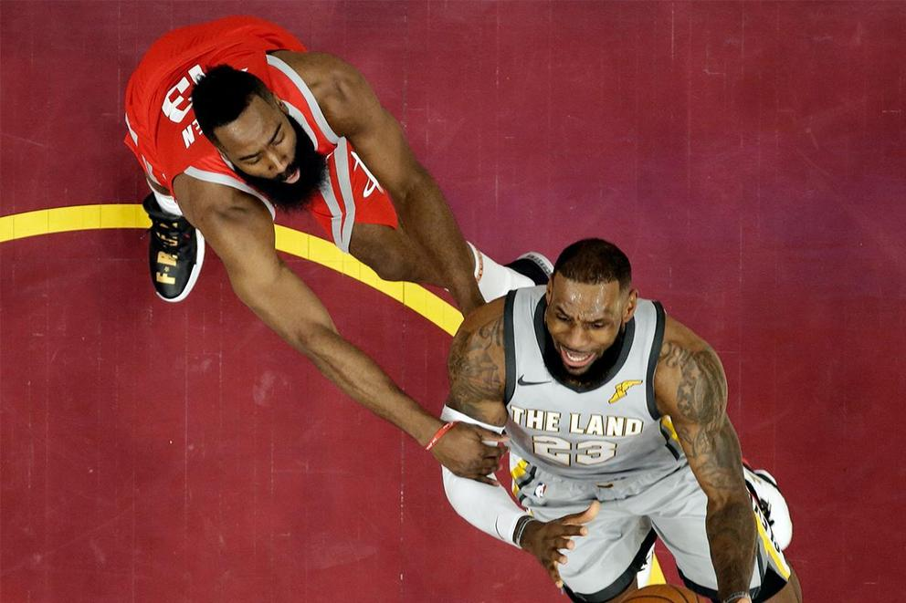 Who's the NBA MVP: James Harden or LeBron James?