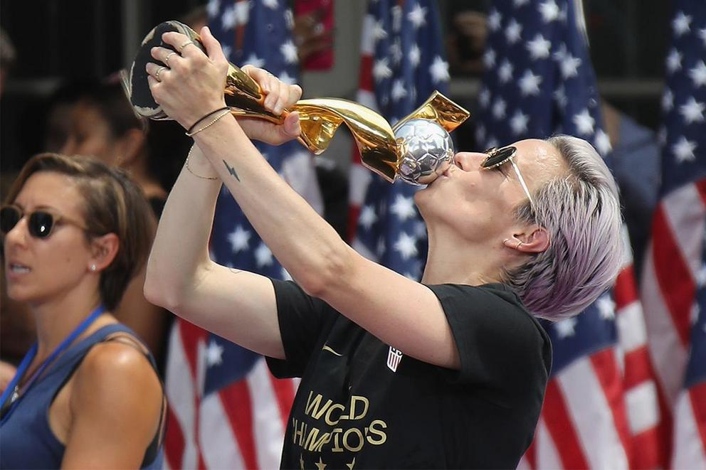 Is Megan Rapinoe a hero?