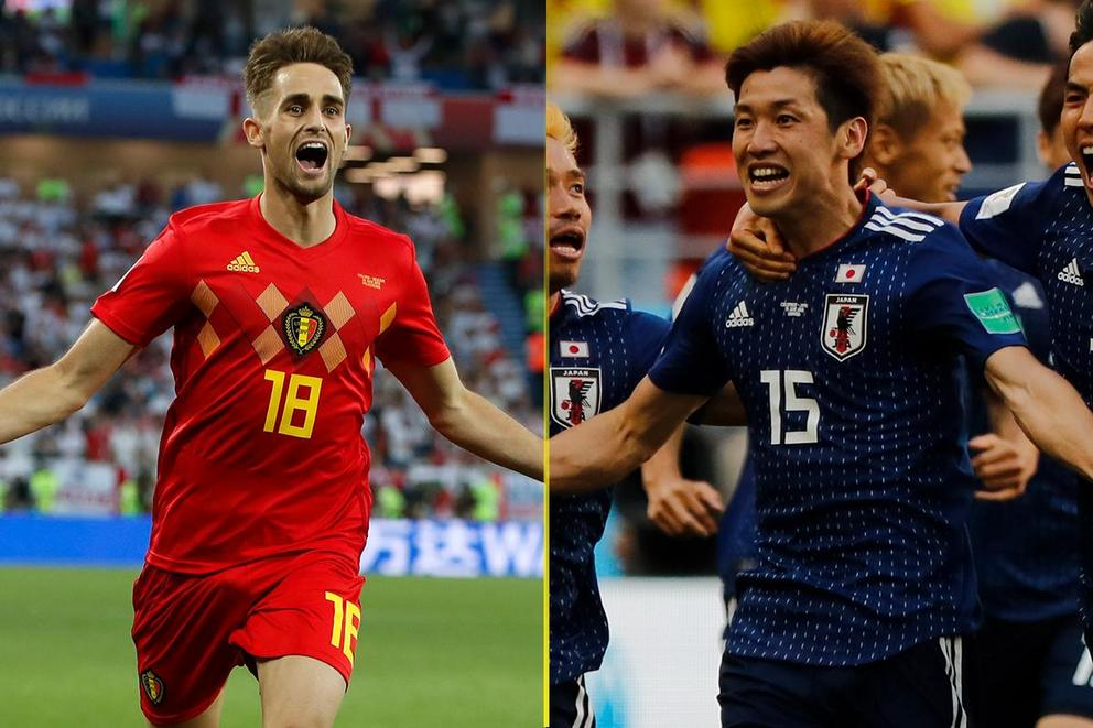 Who will advance to the World Cup quarterfinal: Belgium or Japan?