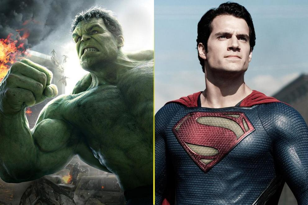 Hulk vs. Superman: Who's the strongest?