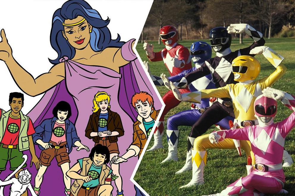Which '90s fav has the best theme song: 'Captain Planet' or 'Power Rangers'?