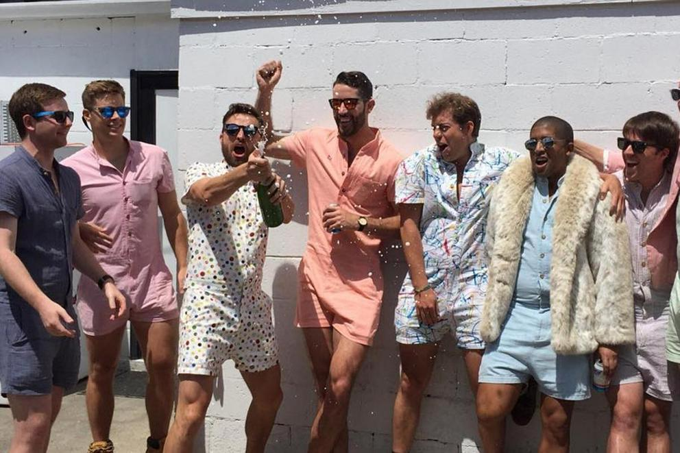 Are rompers for men just wrong?