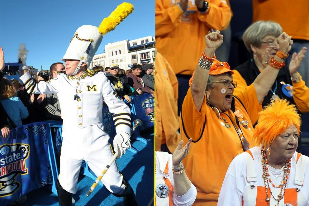 Best college fight song: Michigan or Tennessee?