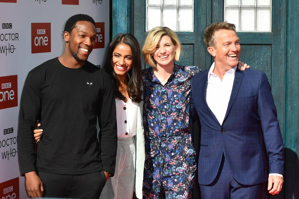 Are you excited for the return of 'Doctor Who'?