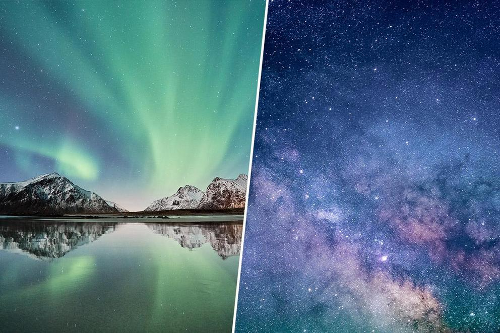 Which would you rather see: The northern lights or the Sea of Stars?