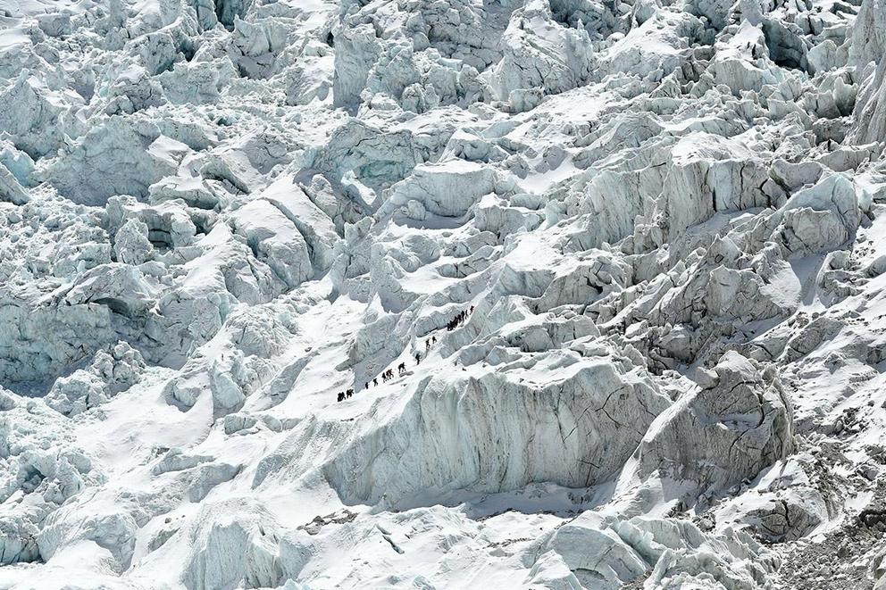 Should previous experience be required before climbing Mount Everest?