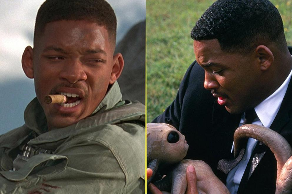 Will Smith's best sci-fi movie: 'Independence Day' or 'Men in Black'?