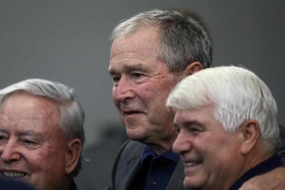 Should anyone be friends with George W. Bush?