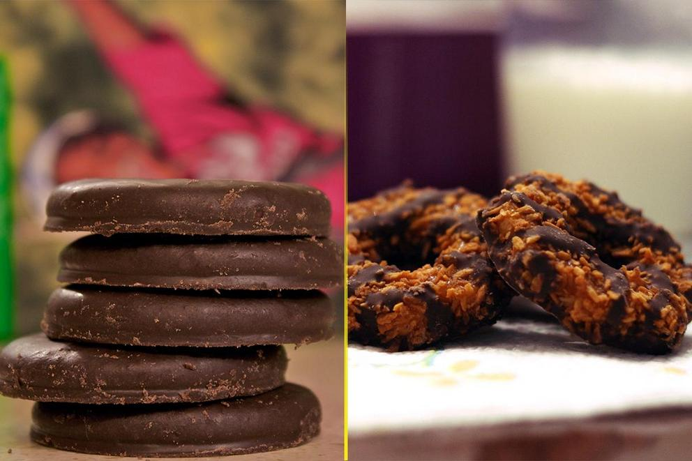 Best Girl Scout Cookie: Thin Mints or Samoas?