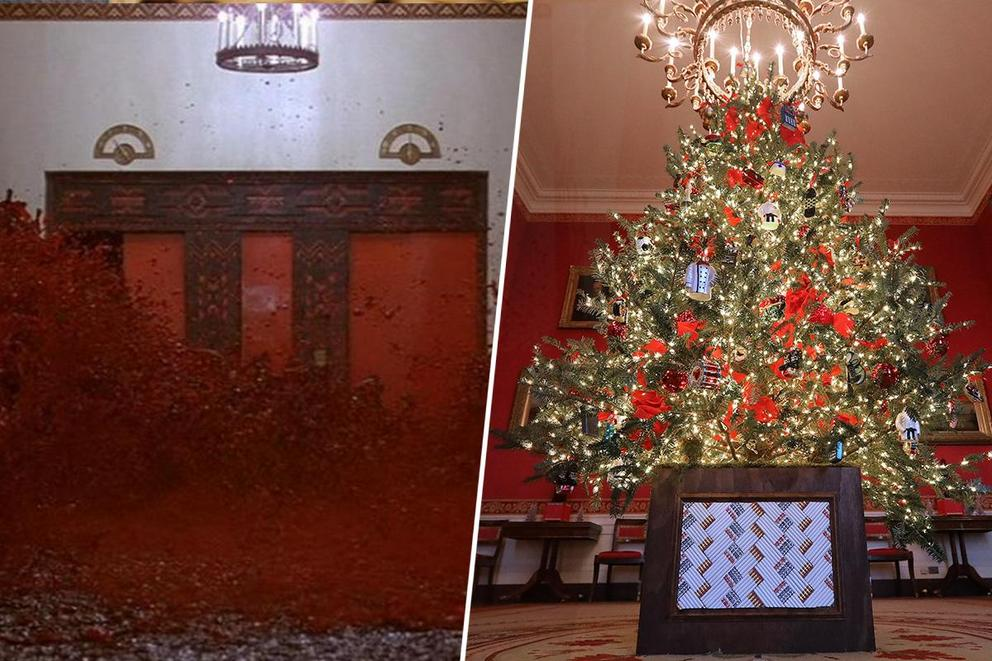 Where would you rather spend the holidays—the Overlook Hotel or the White House?