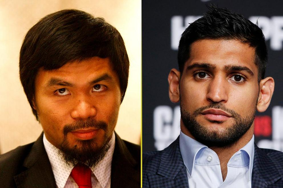 Who would win in a fight: Manny Pacquiao or Amir Khan?