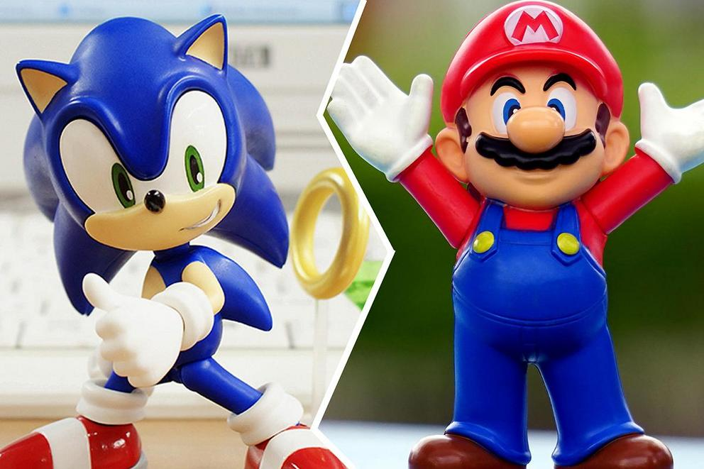 Who is the best video game mascot: Sonic or Mario?