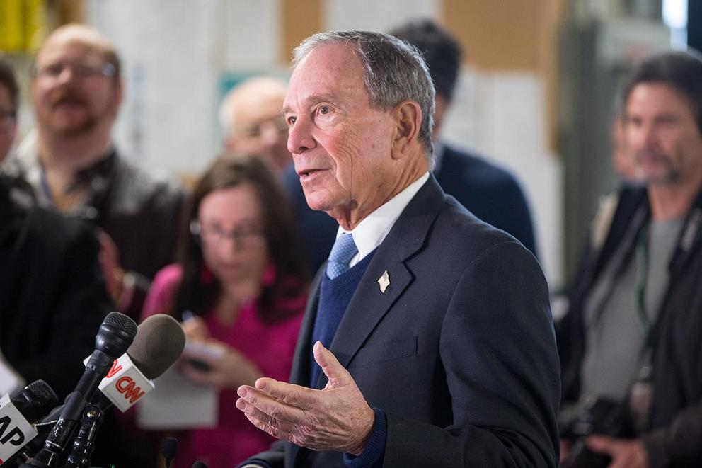 Would you vote for Michael Bloomberg to be president?
