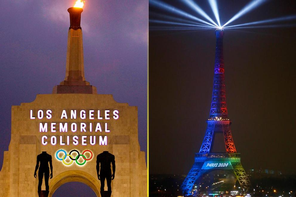 Who will host the 2024 Olympics: Los Angeles or Paris?