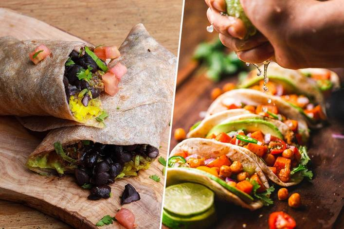 Which dish is better: burritos or tacos?