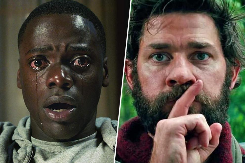 Which instant classic is your favorite suspenseful horror flick: 'Get Out' or 'A Quiet Place'?