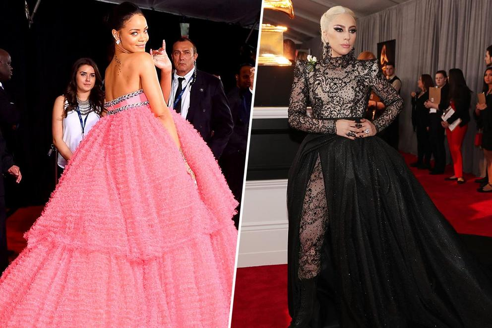 Best dressed at the Grammys of all time: Rihanna or Lady Gaga?
