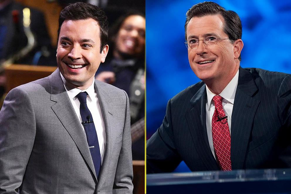Who's the real king of late night: Jimmy Fallon or Stephen Colbert?