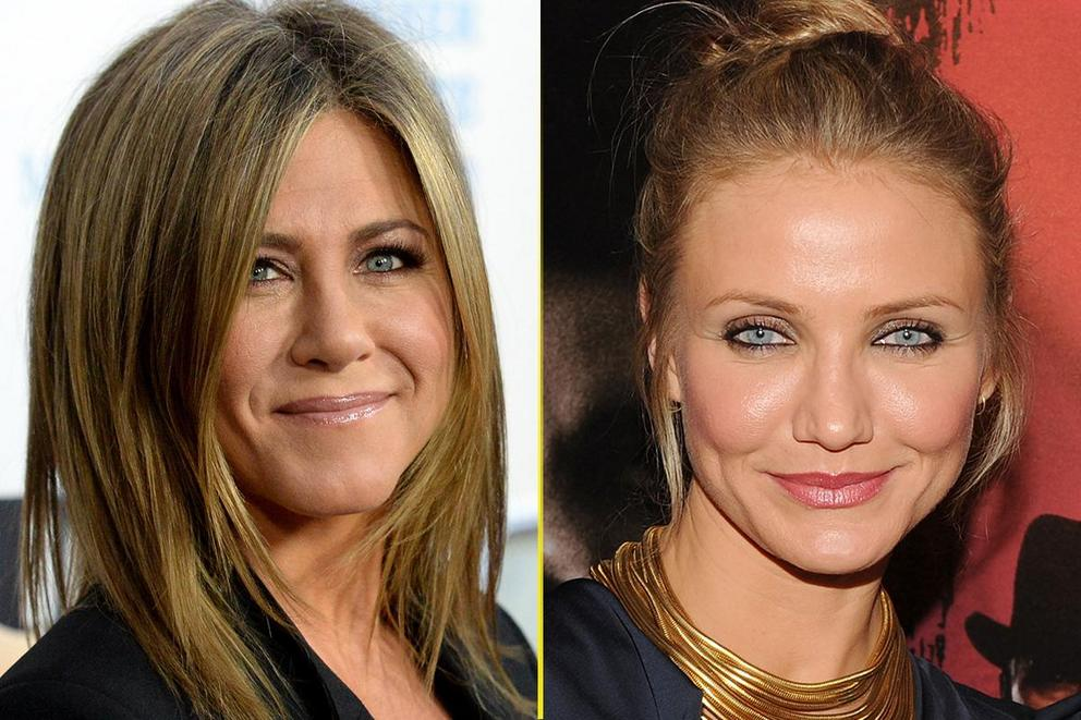 Favorite comedic actress of the '90s and aughts: Jennifer Aniston or Cameron Diaz?