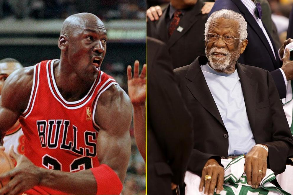 Greatest NBA player ever: Michael Jordan or Bill Russell?