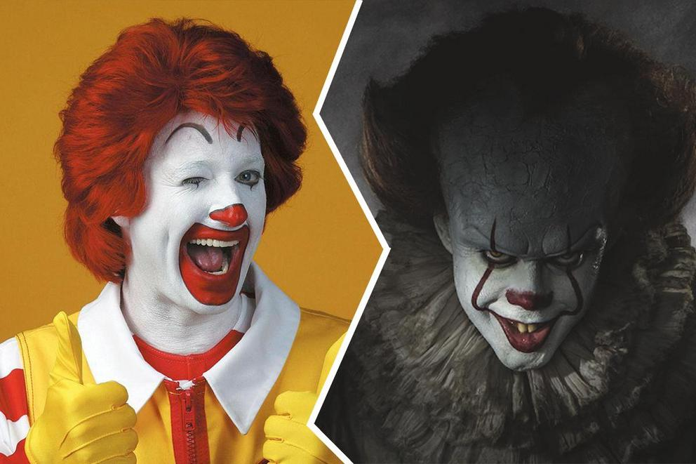 Are clowns terrifying or entertaining?