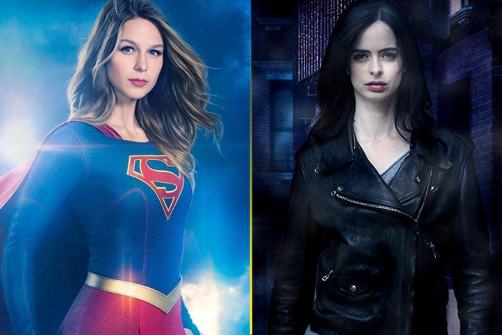 Favorite superheroine show: 'Supergirl' or 'Jessica Jones'?