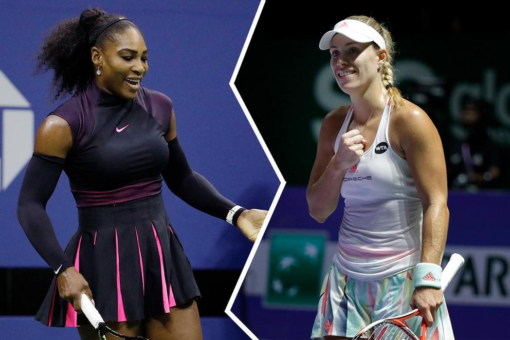 Women's tennis player of the year: Serena Williams or Angelique Kerber?