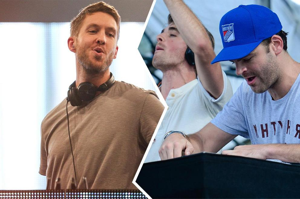 Who will win Favorite EDM Artist: Calvin Harris or the Chainsmokers?